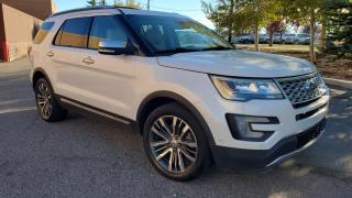 Used 2016 Ford Explorer 4WD 4dr Platinum, DVDs, MASSAGE SEATS, SELF PARALLEL PARKING for sale in Calgary, AB