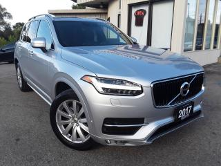 Used 2017 Volvo XC90 T6 Momentum AWD - LEATHER! NAV! BACK-UP CAM! PANO ROOF! 7 PASS! for sale in Kitchener, ON