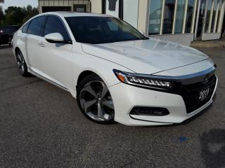 Used 2019 Honda Accord Touring 2.0T - LEATHER! NAV! BACK-UP CAM! BSM! HUD! SUNROOF! for sale in Kitchener, ON