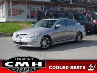 Used 2013 Hyundai Genesis Sedan w/Tech Pkg  NAV ROOF HTD-S/W 18-AL for sale in St. Catharines, ON
