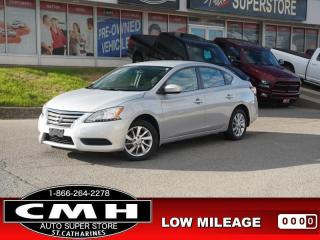 Used 2015 Nissan Sentra SV  LOW-KMS CAM BLUETOOTH HTD-SEATS 16-AL for sale in St. Catharines, ON