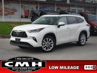 Used 2021 Toyota Highlander Limited  LOW-KMS NAV ROOF HTD-S/W 20-AL for sale in St. Catharines, ON