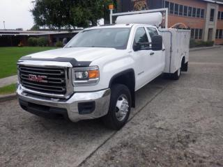 Used 2016 GMC Sierra 3500 HD Crew Cab 4WD Service Body with VMac System for sale in Burnaby, BC