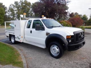 Used 2008 Ford F-450 SD Service Truck SuperCab 4WD Dually Diesel for sale in Burnaby, BC