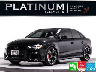 Used 2018 Audi RS 3 2.5T Quattro, AWD, TURBOCHARGED, 400HP, NAV, CAM for sale in Toronto, ON