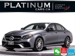 Used 2018 Mercedes-Benz E-Class AMG E63 S, 603HP, TRACK PACE, DISTRONIC PLUS, HUD for sale in Toronto, ON