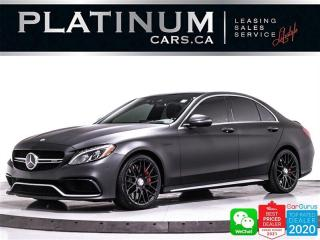 Used 2016 Mercedes-Benz C-Class AMG C63 S, 503HP, NAV, DISTRONIC PLUS, DRIVING PKG for sale in Toronto, ON
