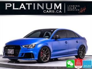 Used 2019 Audi RS 3 2.5T Quattro,MODIFIED EXHAUST,CARBON FIBER INTAKE for sale in Toronto, ON
