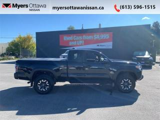Used 2019 Toyota Tacoma TRD Off Road  - Navigation for sale in Ottawa, ON
