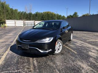 Used 2015 Chrysler 200 C 2WD for sale in Cayuga, ON