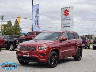 Used 2015 Jeep Grand Cherokee Altitude 4x4 ~Nav ~Cam ~Heated Leather ~Moonroof for sale in Barrie, ON
