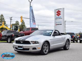 Used 2010 Ford Mustang Convertible ~4.0L V6 ~Leather ~Alloy Wheels for sale in Barrie, ON