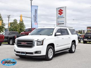 Used 2016 GMC Yukon SLT 4x4 ~8-Passenger ~Heated/Cooled Leather ~Roof for sale in Barrie, ON