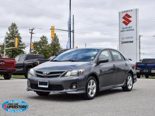 Used 2013 Toyota Corolla S ~Bluetooth ~Fog Lamps ~Alloy Wheels ~Spoiler for sale in Barrie, ON