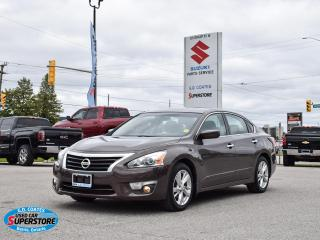 Used 2014 Nissan Altima SV ~Heated Seats ~Power Sunroof ~Camera ~Bluetooth for sale in Barrie, ON