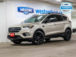 Used 2017 Ford Escape Titanium+CAMERA+NAVIGATION+MOONROOF+SPORT APPEARANCE PACKAGE for sale in Toronto, ON