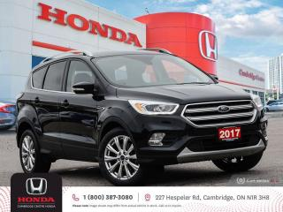 Used 2017 Ford Escape Titanium BLUETOOTH | HEATED SEATS | SATELLITE RADIO EQUIPPED for sale in Cambridge, ON