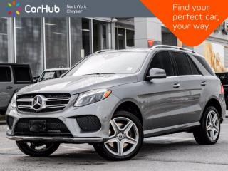 Used 2018 Mercedes-Benz GLE 400 4MATIC Heated Seats Backup & 360 Cameras Panoramic Roof for sale in Thornhill, ON