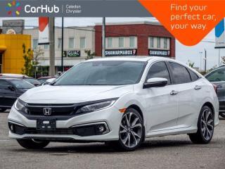 New 2019 Honda Civic Sedan Touring Navigation Sunroof Bluetooth Backup Camera Heated Seats Remote Start 18