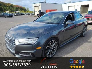 Used 2017 Audi A4 S-Line I NAVI I 6SPD I NO ACCIDENTS for sale in Concord, ON