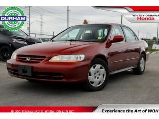 Used 2001 Honda Accord LX V6 Automatic for sale in Whitby, ON
