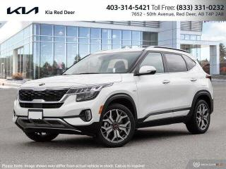New 2022 Kia Seltos SX Turbo for sale in Red Deer, AB