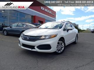 Used 2015 Honda Civic Coupe LX for sale in Calgary, AB