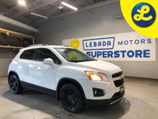 Used 2014 Chevrolet Trax LTZ AWD * Two Tone Leather * Heated Leather Seats * Smartphone Link * Back Up Camera * Remote Start * Hands Free Calling * Bose Audio System * Cruise for sale in Cambridge, ON