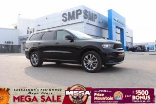 Used 2020 Dodge Durango GT - AWD, Leather, Sunroof, Remote Start, Pwr Lft Gate for sale in Saskatoon, SK