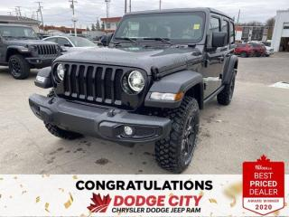 New 2021 Jeep Wrangler Unlimited Willys for sale in Saskatoon, SK