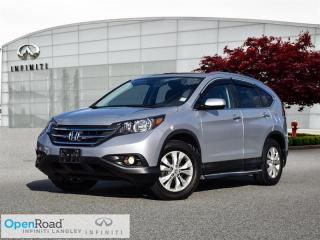 Used 2013 Honda CR-V Touring AWD for sale in Langley, BC