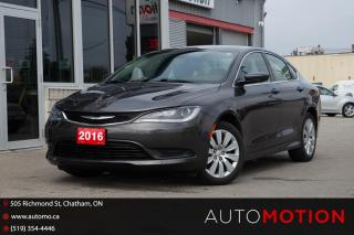Used 2016 Chrysler 200 LX for sale in Chatham, ON