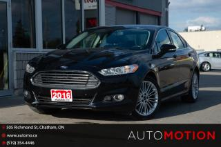 Used 2016 Ford Fusion SE for sale in Chatham, ON