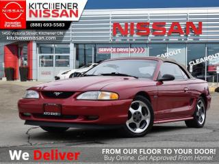 Used 1997 Ford Mustang GT  AS-IS SPECIAL | YOU CERTIFY, YOU SAVE! for sale in Kitchener, ON