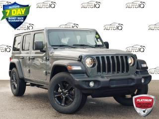 Used 2021 Jeep Wrangler Unlimited Sport DEALER DEMO for sale in St. Thomas, ON