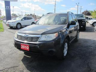 Used 2010 Subaru Forester X sport for sale in Hamilton, ON
