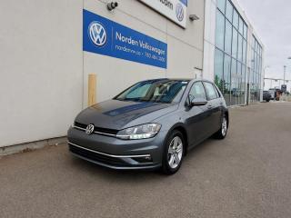 Used 2019 Volkswagen Golf HIGHLINE | TECH PKG | VW CERTIFIED | LOW KMS! for sale in Edmonton, AB