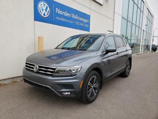 Used 2018 Volkswagen Tiguan HIGHLINE   TECH PKG   3RD ROW PKG   CERTIFIED for sale in Edmonton, AB