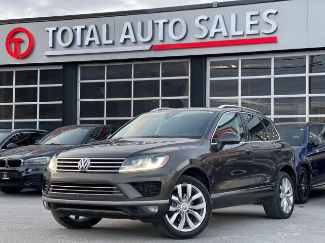 2015 Volkswagen Touareg EXECLINE   ONE OWNER   NO ACCIDENTS   MUST SEE