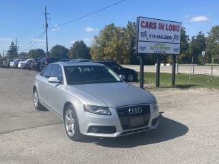 Used 2012 Audi A4 2.0T PREMIUM for sale in Komoka, ON