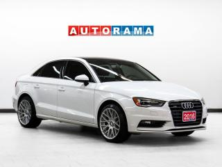 Used 2016 Audi A3 2.0T Progressiv Leather SunRoof Bluetooth for sale in Toronto, ON