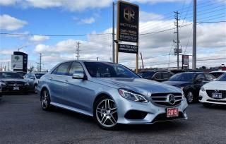 Used 2015 Mercedes-Benz E-Class No Accidents | 1 Owner | E 550 4MATIC | Certified for sale in Brampton, ON