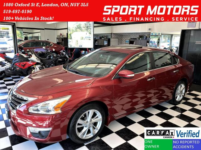 2013 Nissan Altima 2.5 SL+Blind Spot+Leather+GPS+ROOF+CLEAN CARFAX
