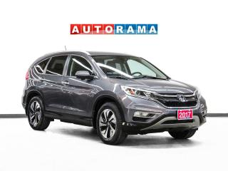 Used 2017 Honda CR-V Touring AWD Leather Navigation Bluetooth for sale in Toronto, ON