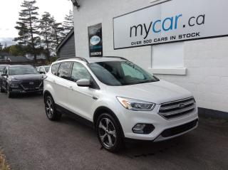Used 2017 Ford Escape NAV, BIG SCREEN, HEATED PWR SEAT, ALLOYS!! for sale in Richmond, ON