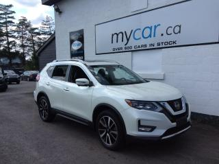 Used 2018 Nissan Rogue SL LEATHER, PANOROOF, NAV. HEATED SEATS!! for sale in North Bay, ON