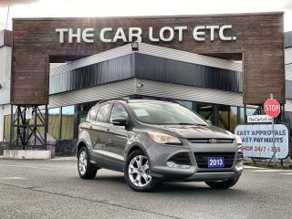 Used 2013 Ford Escape SEL 4X4!! LEATHER!! HEATED SEATS!! SUNROOF!! NAVIGATION!! for sale in Sudbury, ON