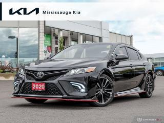 Used 2020 Toyota Camry XSE RED LEATHER!! PANORAMIC ROOF!! TRD CARBON FIBER ADDS!! BLACKOUT PKG!! for sale in Mississauga, ON