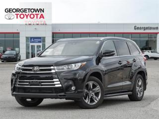 Used 2019 Toyota Highlander LIMITED  for sale in Georgetown, ON