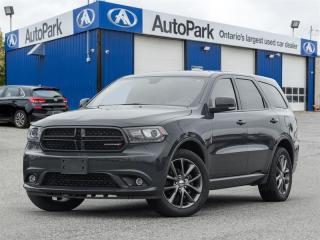 Used 2018 Dodge Durango GT BACKUP CAM|HEATED SEATS|MEMORY SEAT|LEATHER for sale in Georgetown, ON